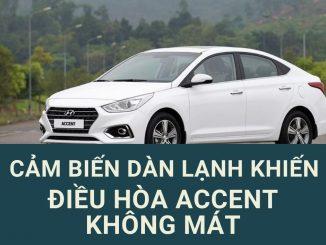 điều hòa xe accent không mát